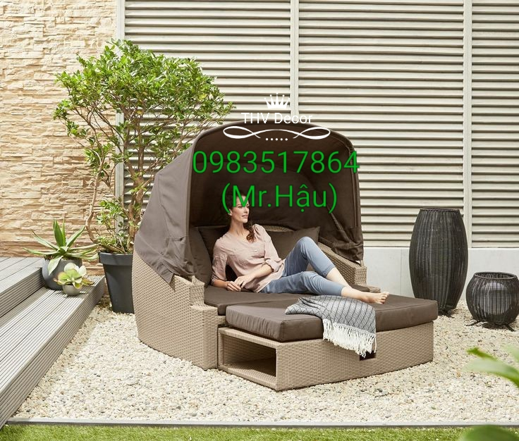 Giường tắm nắng đẹp tại Công ty Tinh Hoa Việt